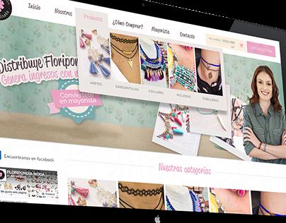 Online Store Deisgn - Floripondia.co