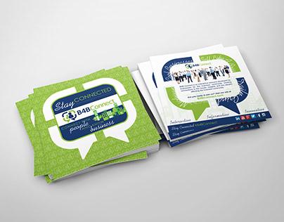 B4B Connect Brochure Design