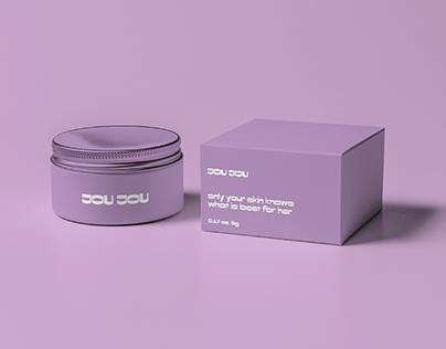 JOU JOU beauty branding