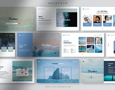 Vacatour - Professional Travel Tour Presentation