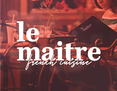 Le Maitre - Restaurant Identity