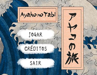 Identidade visual do jogo Ayako no Tabi