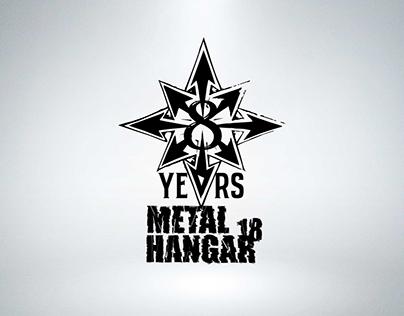 8 Years Metal Hangar 18 Tee (2015)