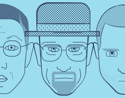 Faces of Breaking Bad