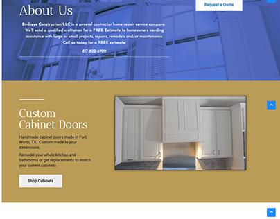 Birds Eye Construction Website Design