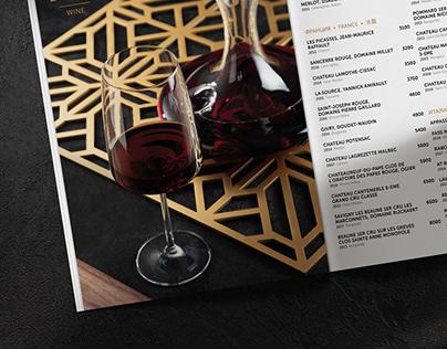 Restaurant menu   design & food photography