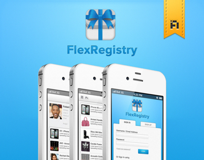 FlexRegistry Icon and User Interface Design