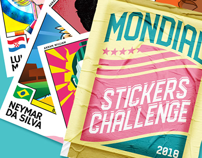 Mondial Stickers Challenge 2018