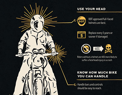 Motorcycle Safety Infographic