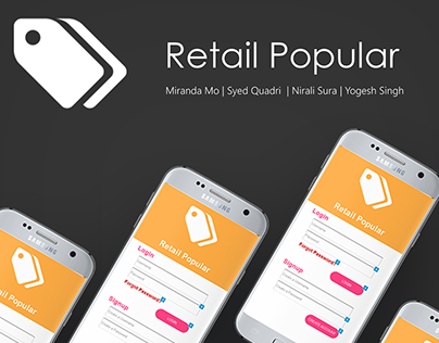 Retail Popular: A Mall Shopping App