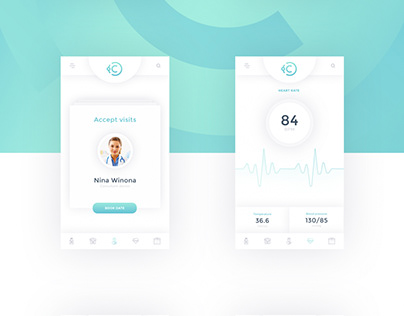 Hospital App Design Template