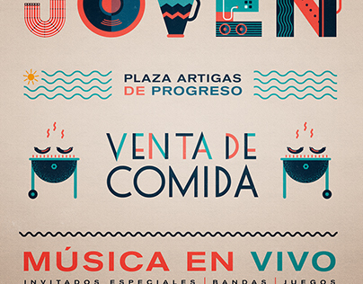 Poster ¨Evento Joven¨