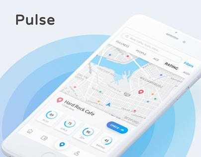 Pulse – Place Finder App