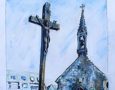 La Chapelle De La Croix, Concarneau, France