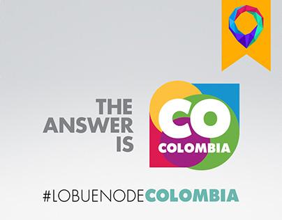 #LOBUENODECOLOMBIA