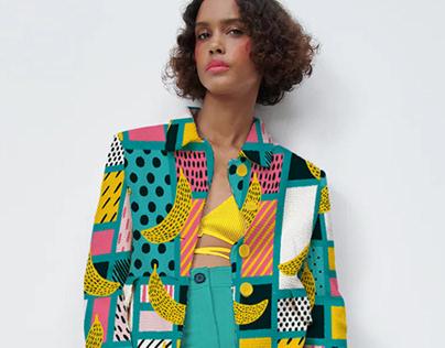 Mondrianana, Textile design