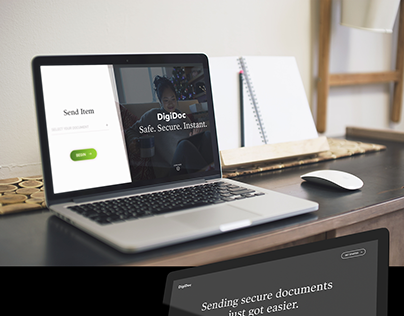 Secure Document Landing Page