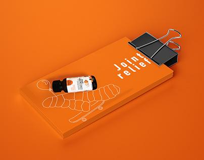 Curcumin Supplement Packaging Design