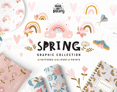 Spring graphic collection