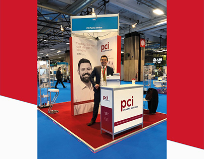 PCI Pharma Services - Shell Scheme Exhibition Stand