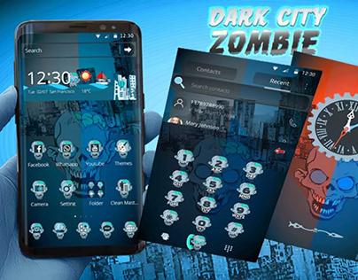 Dark city zombie Theme for CM louncher