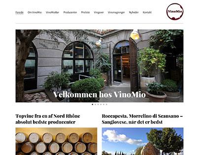 VinoMio - Web design for Wordpress