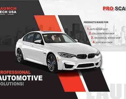 Professional Automotive Solutions - Facebook AD Design