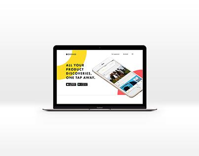 Geenee: Website Design
