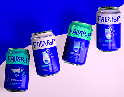Fauxpop: Your bartender in a can
