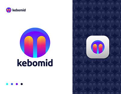 Music M Modern Logo Design Concept for Sale