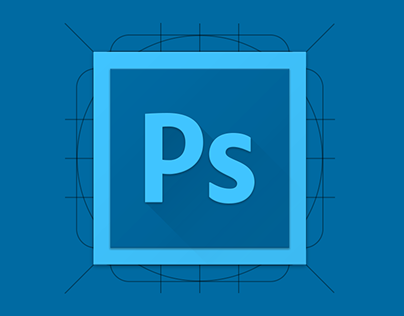 Adobe Photoshop Material Icon
