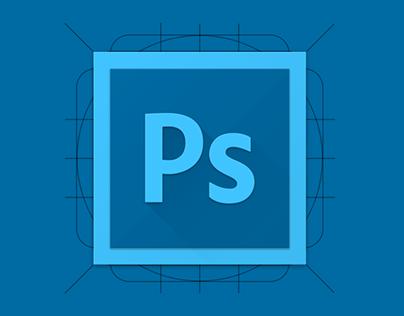 Adobe Photoshop Material Icon