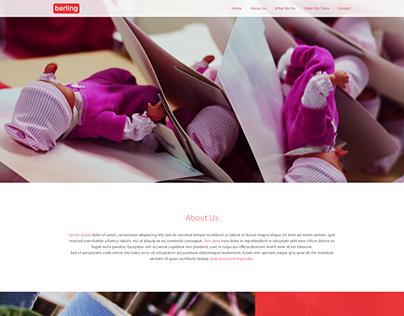Berling - Toy website