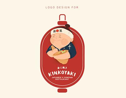 Logo Design for Kinkoyaki