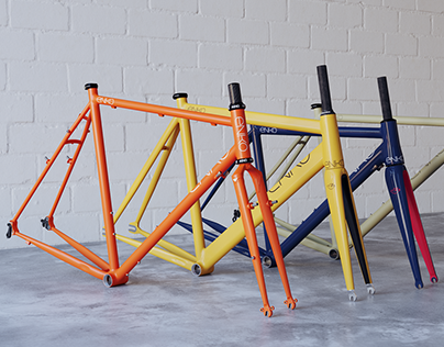 Enko Cycles Frames Visual