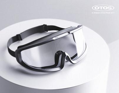 Wide goggle