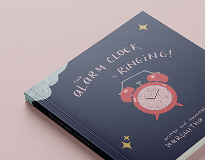The Alarm Clock is Ringing! - Illustrated Book