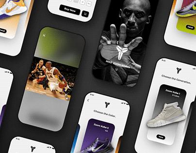 【UI/ Mobile】Nike Zoom Kobes