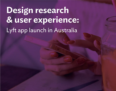 Design strategy for Lyft launch in Australia