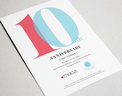 Martha Stewart and Macy's 10 year anniversary
