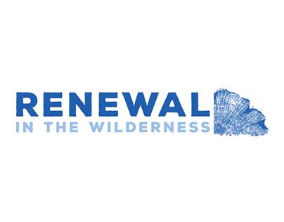 Renewal in the Wilderness branding