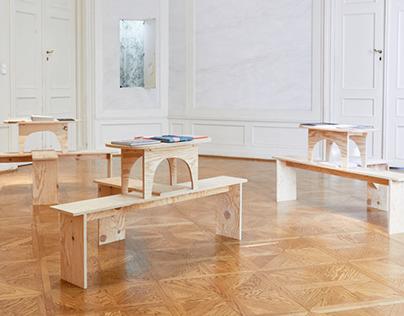 FFS exhibition installation