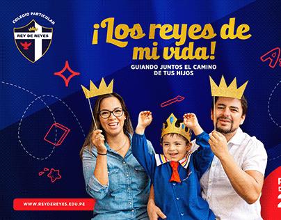 Concepto de Campaña Colegio Rey de Reyes