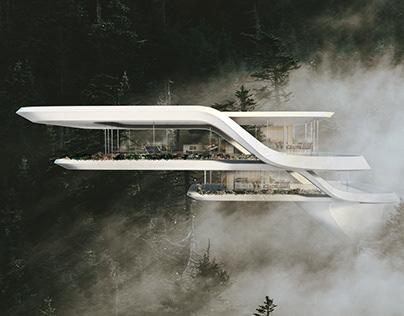 Forest House France by Miroslav Naskov / Mind Design