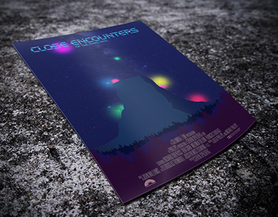 Close Encounters of the Third Kind - Alternative Poster