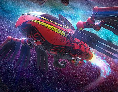 A Road Trip in 2116 - Anu Spaceship