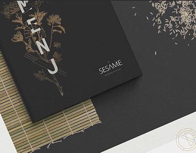 Sesame Restaurant - Free Mockups