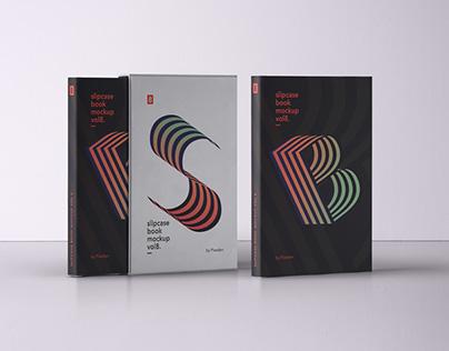 Free Psd Slipcase Book Mockup