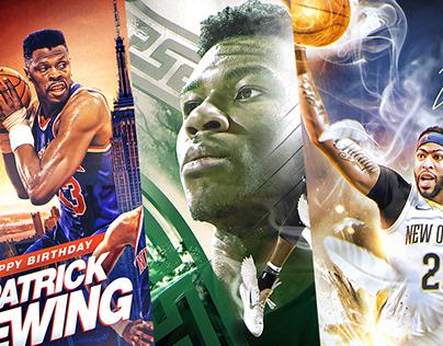 Official NBA Birthdays