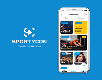 Sportycon — sport challenges app